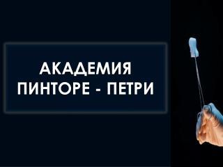 АКАДЕМИЯ ПИНТОРЕ - ПЕТРИ