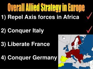Overall Allied Strategy in Europe