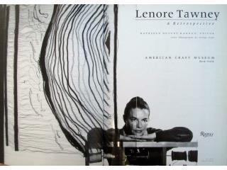 """Lenore Tawney. """"Lekythos, 1962,Linen, 50"""" x 31 x 2"""""""