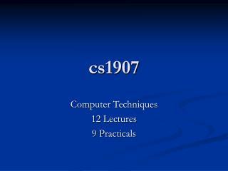 cs1907