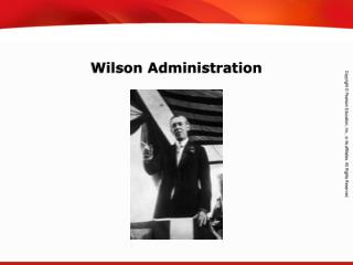 Wilson Administration