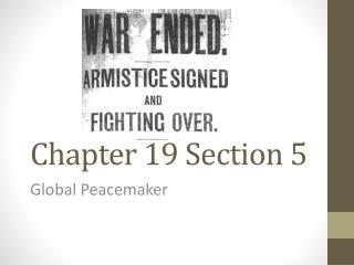 Chapter 19 Section 5