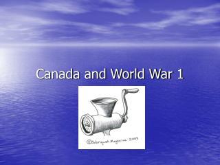 Canada and World War 1