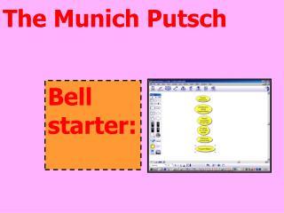 The Munich Putsch