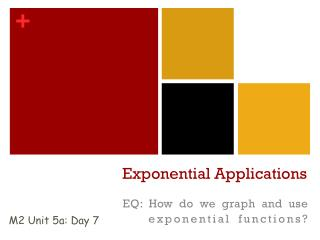 Exponential Applications
