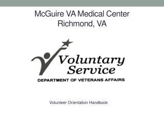 McGuire VA Medical Center Richmond, VA