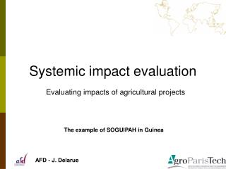 Systemic impact evaluation
