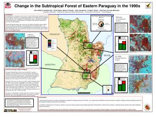 Change in the Subtropical Forest of Eastern Paraguay in the 1990s