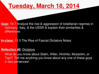 Tuesday, March 18, 2014