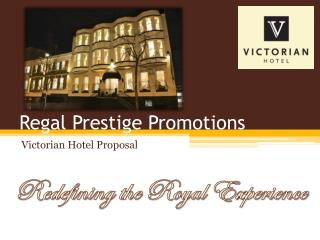 Regal Prestige Promotions
