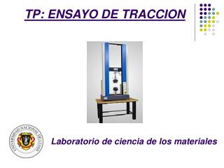 TP: ENSAYO DE TRACCION