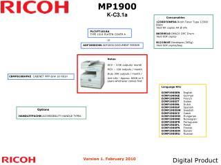 MP1900 K-C3.1a