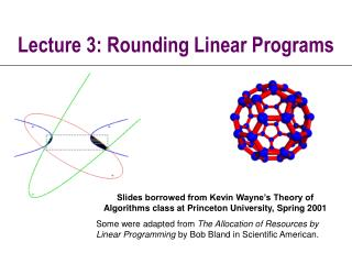 Lecture 3: Rounding Linear Programs