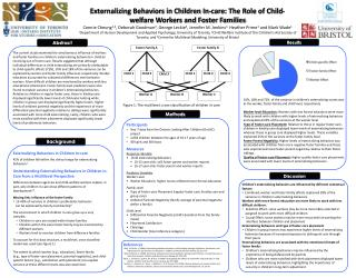 Participants Year 7 data from the Ontario Looking After Children (OnLAC) project