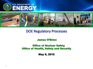 DOE Regulatory Processes