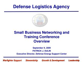 Small Business Networking and Training Conference  Overview