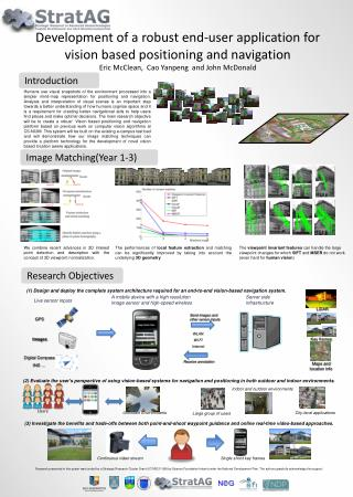 Development of a robust end-user application for vision based positioning and navigation