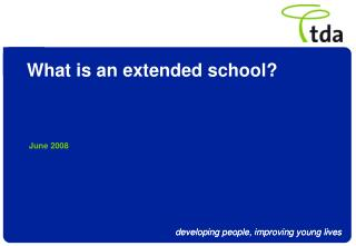 What is an extended school?
