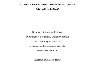 Crisis and Revolution-Presentation(Paris 1209)
