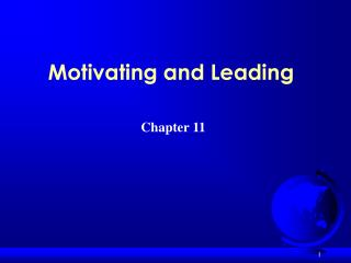 Motivating and Leading
