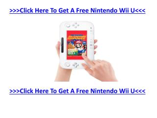 Nintendo Hopes To Make A Big Comeback With Wii U - Find Out