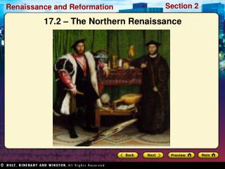 17.2 – The Northern Renaissance