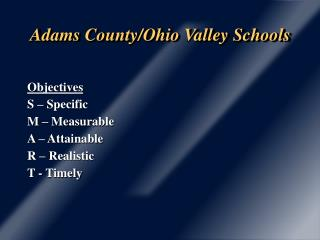 Adams County/Ohio Valley Schools