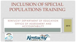 Inclusion of Special Populations Training