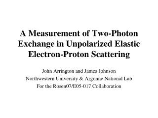 A Measurement of Two-Photon Exchange in Unpolarized Elastic Electron-Proton Scattering