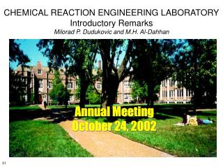 Annual Meeting October 24, 2002