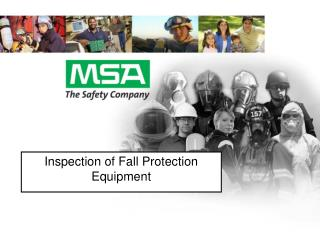 Inspection of Fall Protection Equipment