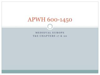 APWH 600-1450