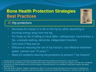 Bone Health Protection Strategies Best Practices