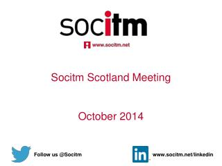 Socitm Scotland Meeting October 2014