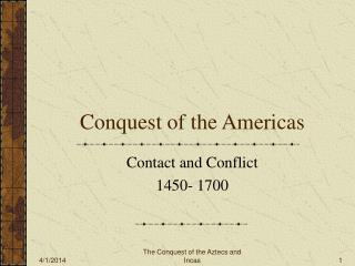 Conquest of the Americas