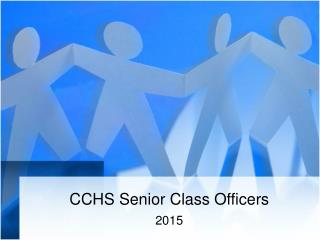 CCHS Senior Class Officers
