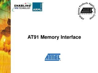 AT91 Memory Interface