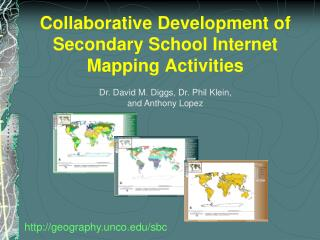 Collaborative Development of Secondary School Internet Mapping Activities