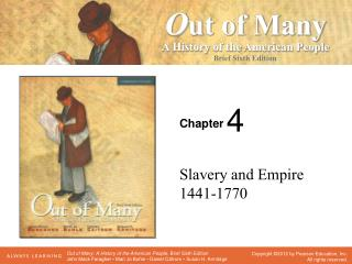 Slavery and Empire 1441-1770