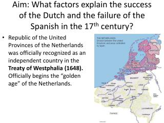 Dutch Political Success