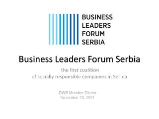 Business Leaders Forum Serbia