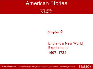 England's New World Experiments 1607‒1732