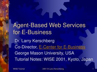 Agent-Based Web Services for E-Business