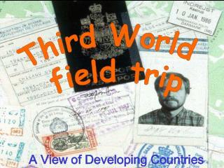 Third World  field trip
