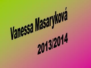 Vanessa Masaryková