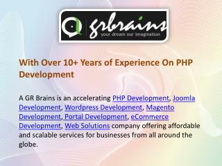 PHP - Effective Way To Get Complete Web Solutions