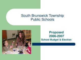 South Brunswick Township Public Schools