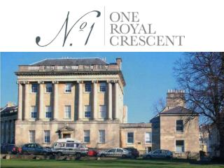 No. 1 Royal Crescent as it has been