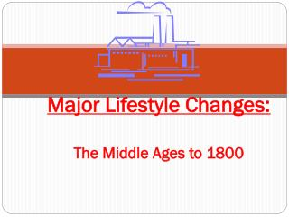 Major Lifestyle Changes: The Middle Ages to 1800