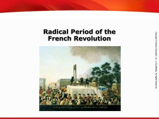 Radical Period of the French Revolution